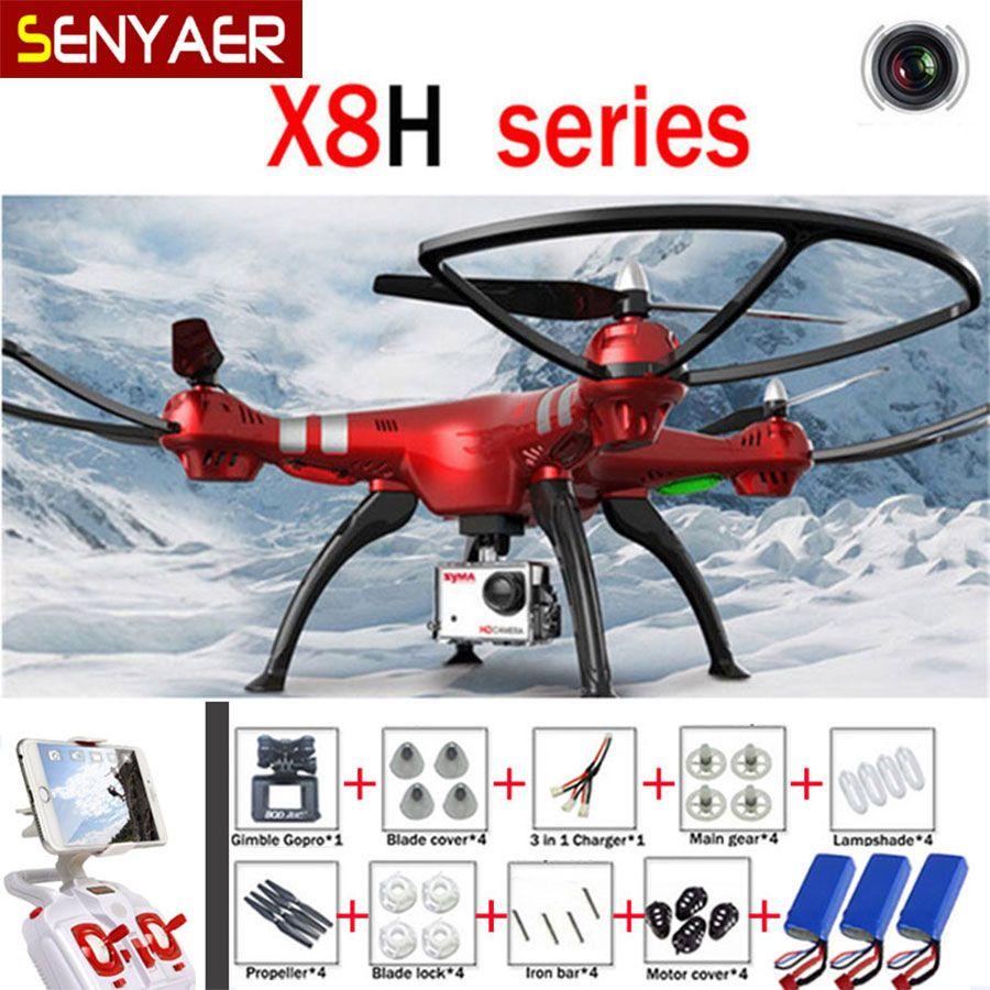 Syma X8hg X8hw X8hc 24g 4ch 6 Axis Rc Drones With 8mp Wide Angle Hd Remote Control Quadcopter Drone Circuit Board