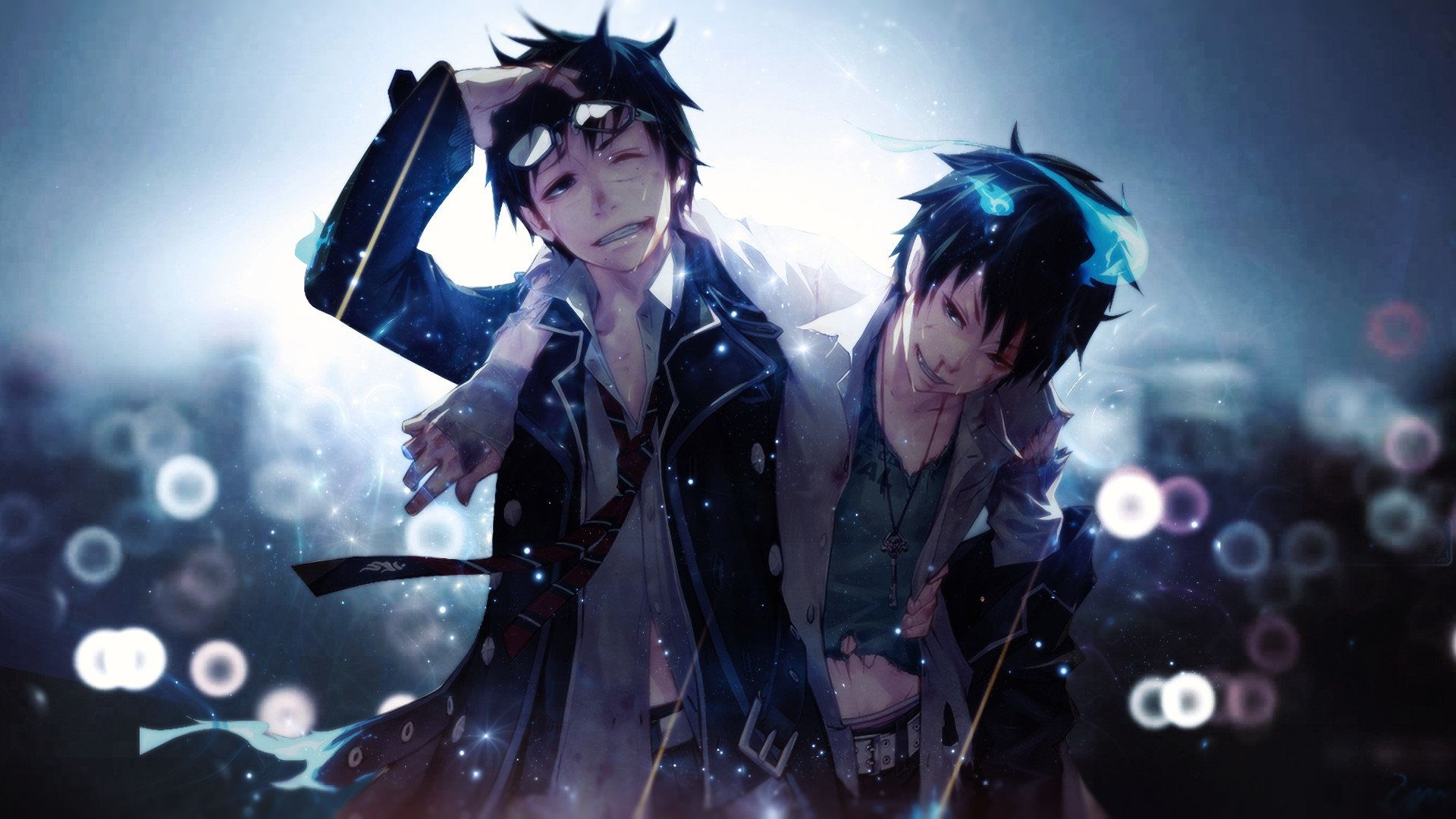 Free Blue Exorcist Ao No High Quality Background Id 242179 For 1080p Pc Blue Exorcist Anime Blue Exorcist Ao No Exorcist