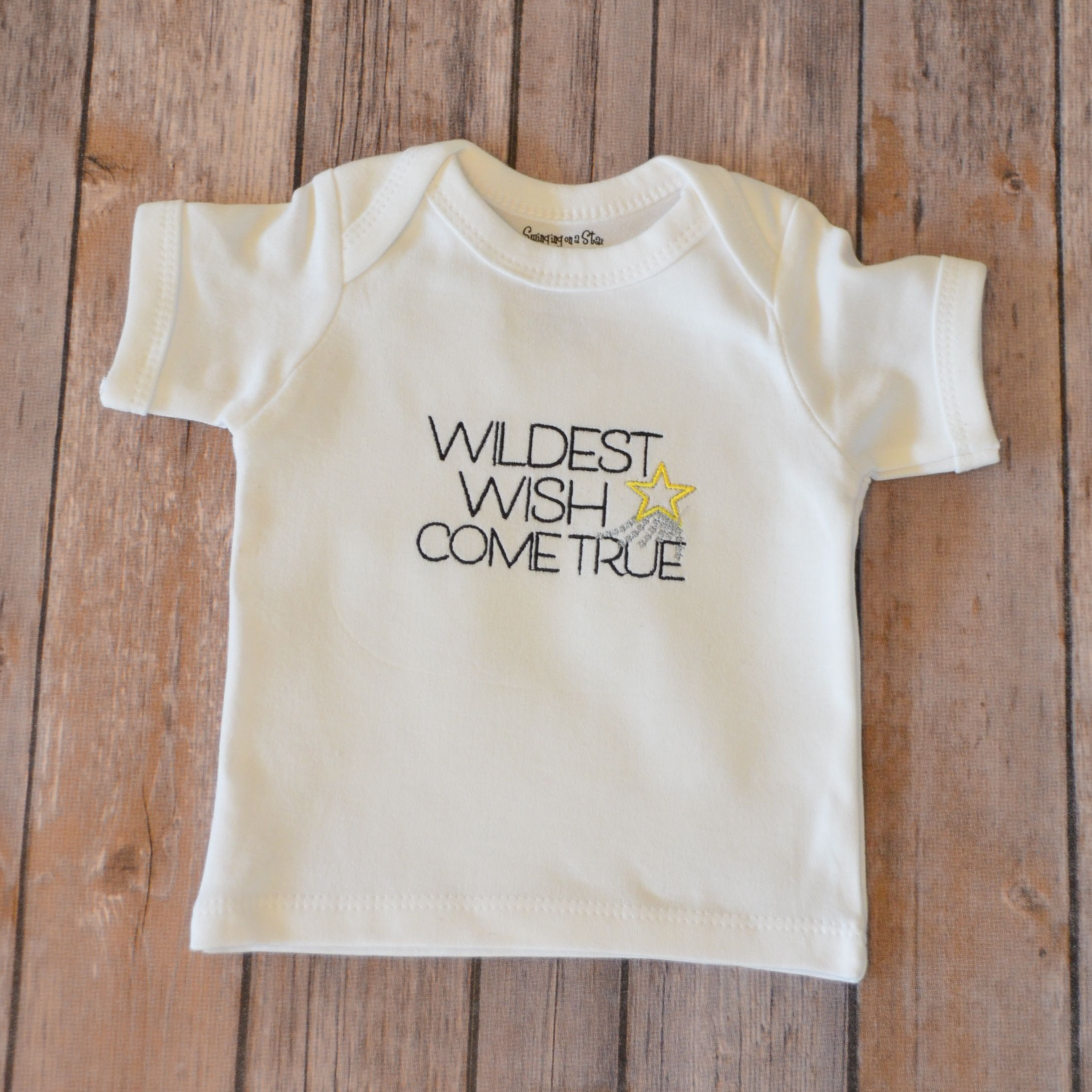 Custom adoption baby gifts adoption nursery and infant toddler baby onesie adoption gifts baby gifts ivf infertility custom embroidery wildest negle Choice Image