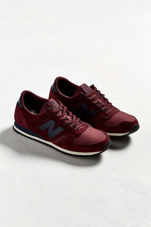 new balance 420 burgundy navy sneaker