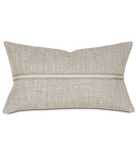 Draper Slate Lumbar Pillows Decorative Pillows Lumbar Pillow