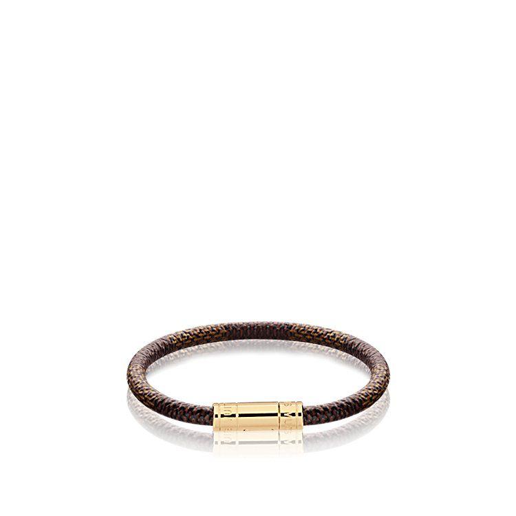 Bracelet Keep It Toile Damier Ebène Femme Accessoires Bracelets en cuir  ef67e13ff07f6
