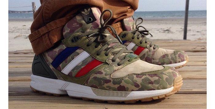 24aa9ba3 todayskicks Spotlight – Bape x UNDFTD x adidas ZX 5000   Shoes ...