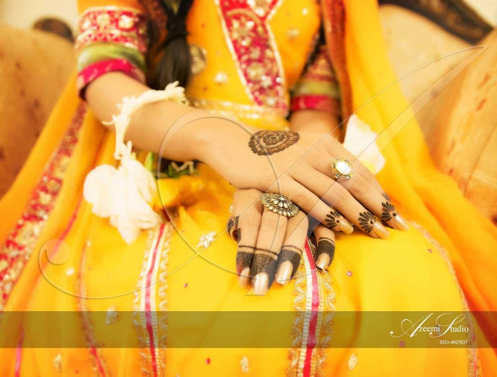Mehndi For N Brides : Azeemi studio photography mayoo'n bride hands pinterest
