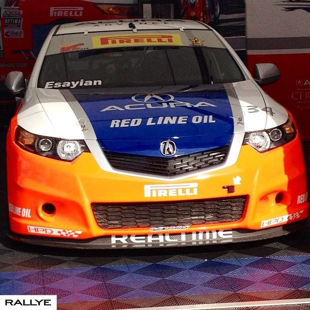 Sneak Peak At The #acura #tsx Set To Race In The #pirelli
