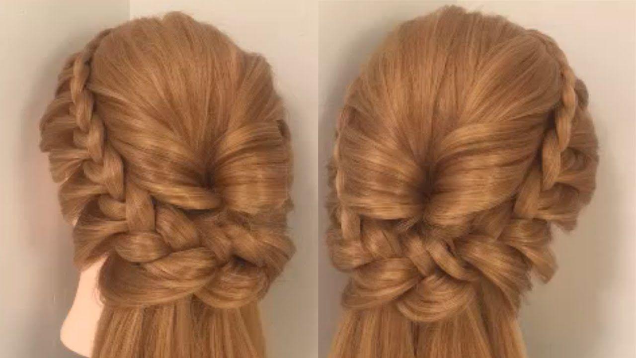 طريقة عمل تسريحة الضفائر بدون حشوة تساريح2018 Hair Styles Long Hair Styles Beauty
