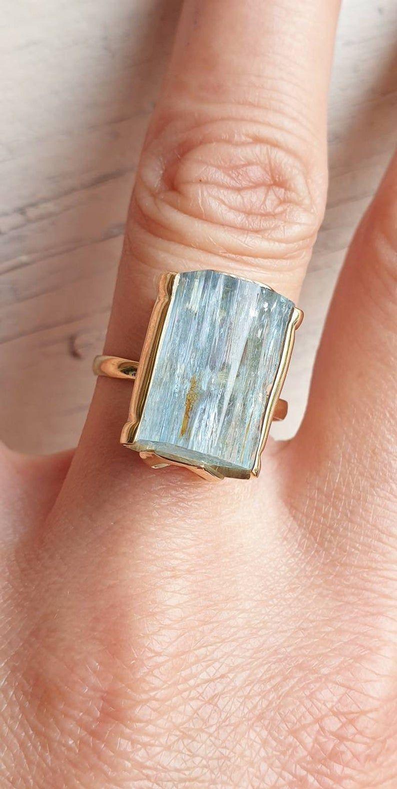 Ring 2.45 ct 925 Silver Topaz