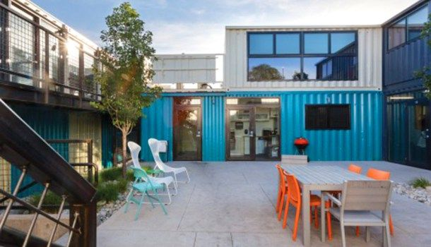 Rhino Cubed shipping container homes