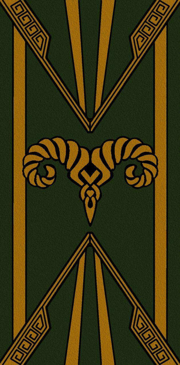 Markarth Banner Gold Dwemer Elder Scrolls Art Elder Scrolls Banner The elder scrolls online markarth dlc