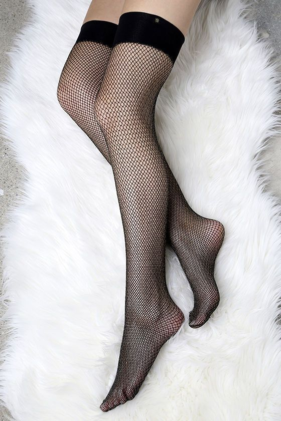 13dea531ed3 Fenty for Stance by Rihanna Fishnet Black and Gold Stockings ...