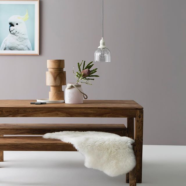Dining Room Goals With Our Kote Table Bench Seat Combo Superbly Crafted From Rosewood