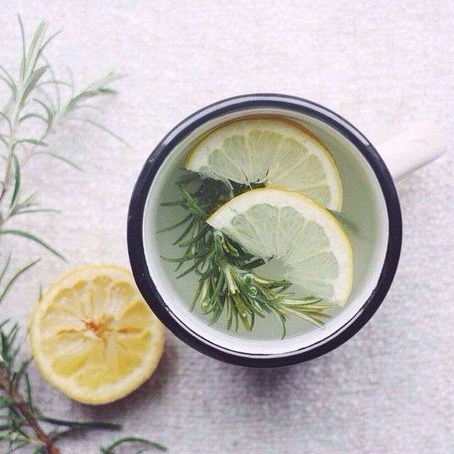 Hot Lemon Water with Honey is often my own morning ritual but this one with Rosemary from @dagmara_ch is a nice twist. http://evpo.st/QcOlNw #foodphotography Dagmara Thanks for sharing your morning ritual with feedfeed, a community that loves to cook/bake and share inspiration by tagging it #feedfeed // sign up to stay in the loop as we develop our social app for cooking inspiration // www.feedfeed.info