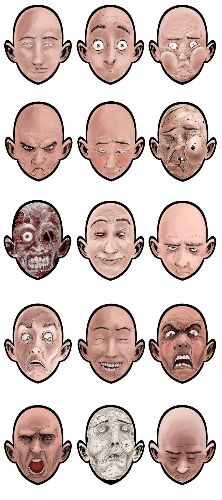 Faces by red-monkey on DeviantArt