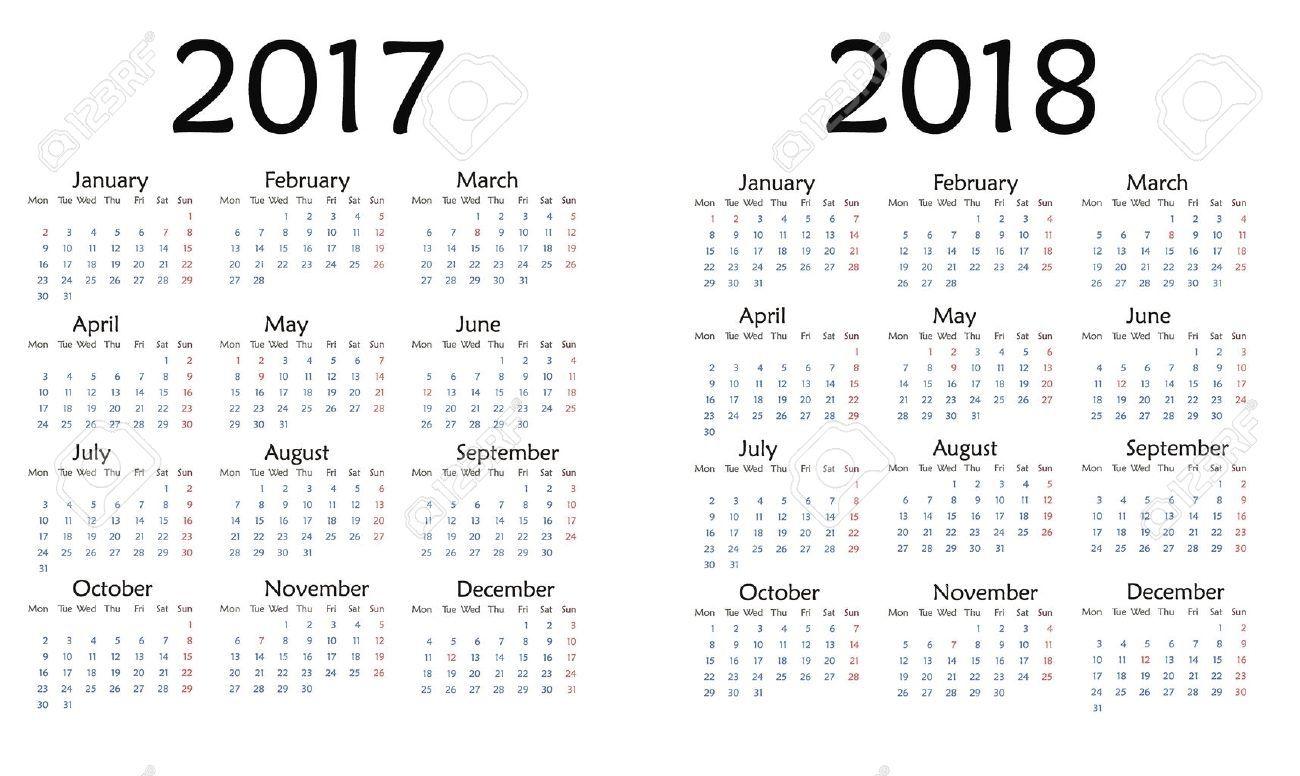 Calendar Week And Date Di 2020