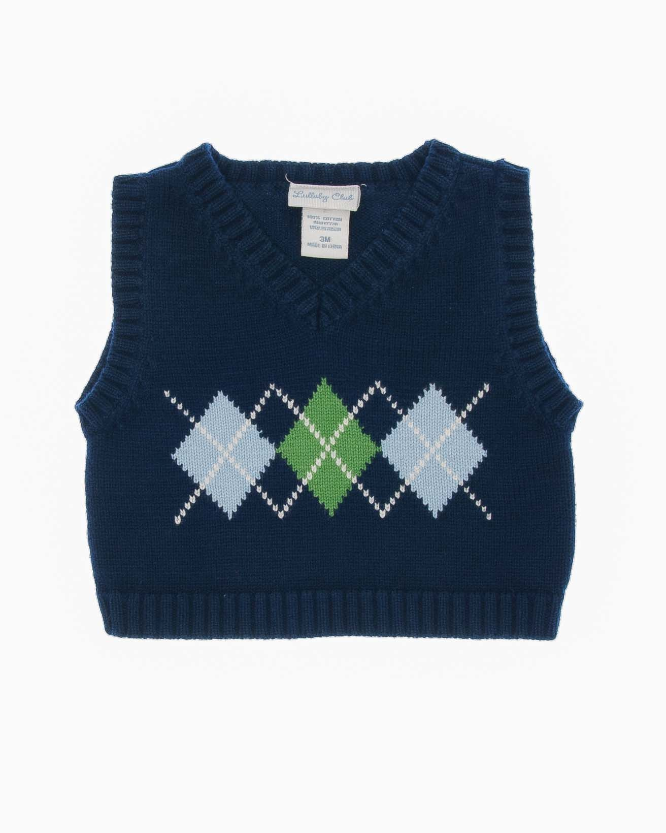 3 Months Boys Vest | Blue green, Patterns and Knit patterns