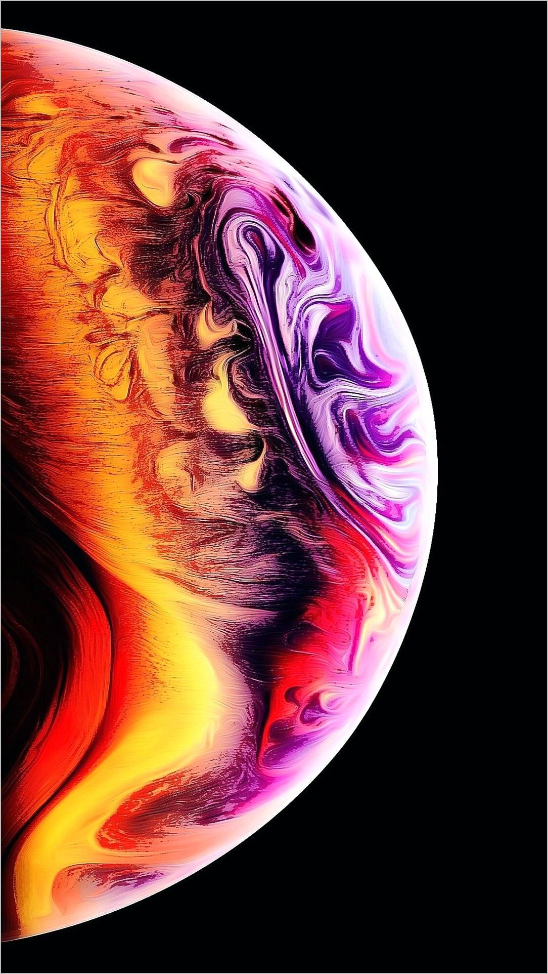 Apple Wallpaper 4k Ink (2020) Apple wallpaper, Wallpaper