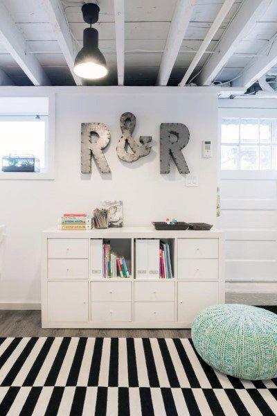 Top 60 Best Basement Ceiling Ideas Downstairs Finishing Designs Low Ceiling Basement Kids