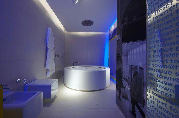 Neon salle de bain led : Éclairage LED combiner illumination de ...