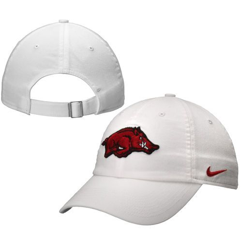 d4368a3b1c2 Nike Arkansas Razorbacks 2014 New Logo Ladies Campus Adjustable Performance  Hat - White