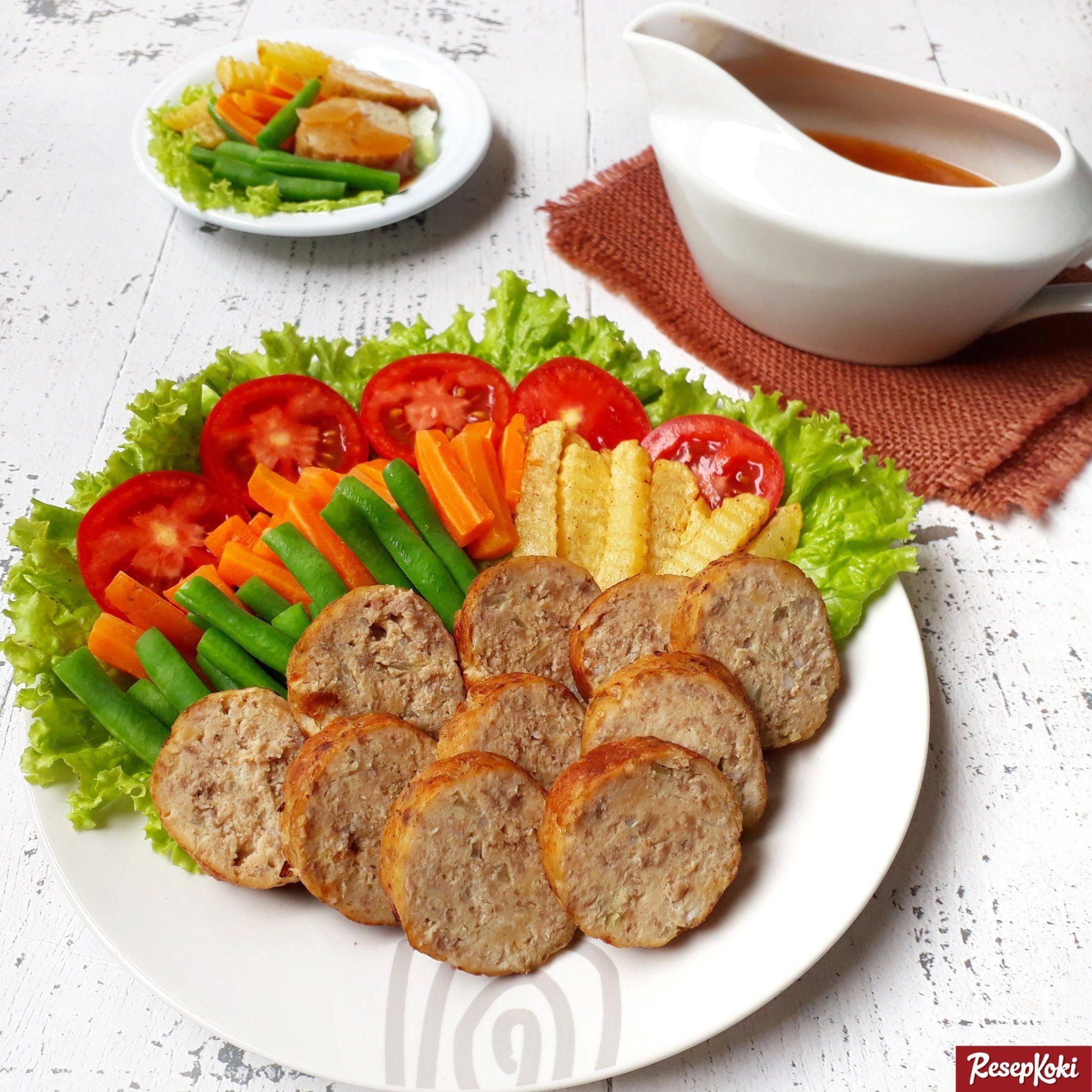 Galantin Daging Sapi Lengkap Istimewa Lezat Praktis Resep Resepkoki Resep Makanan Daging Sapi Resep Makanan