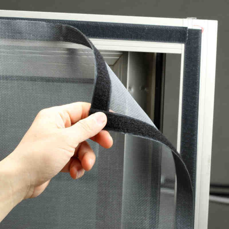 Customized anti mosquito gauze window screen mesh contact easy diy original customized anti mosquito gauze window screen mesh contact easy diy magic window type adhesive dust insect nets non magnetic planetlyrics