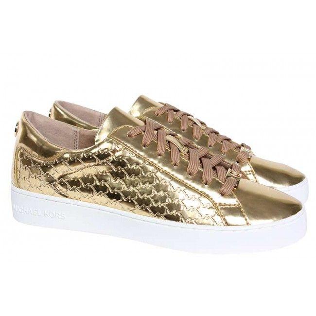 21bc7fe6b80 Michael Kors - Sneakers - goud | Michael Kors schoenen collectie ...