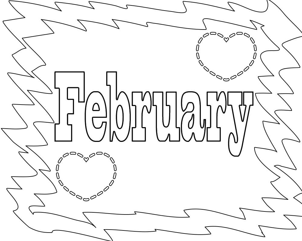 February Coloring Pages For Preschoolers Spring Coloring Pages Coloring Pages Printable Coloring Pages