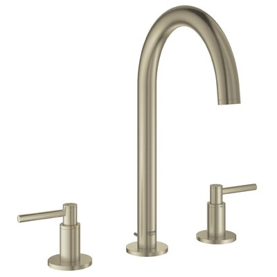 Grohe Atrio Widespread Two Handle Bathroom Sink Faucets Finish