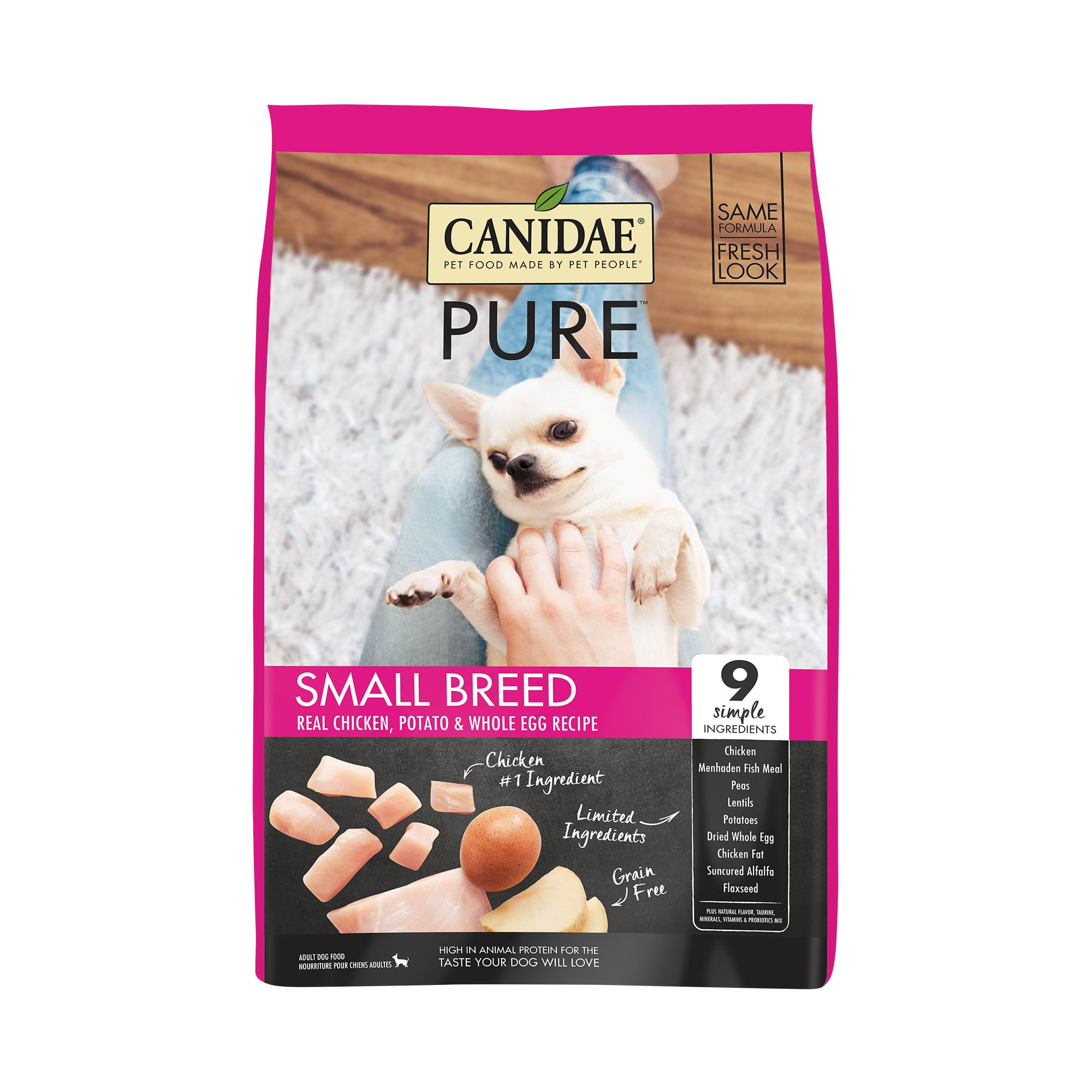 Canidae Pure Grain Free Limited Ingredient Small Breed Real