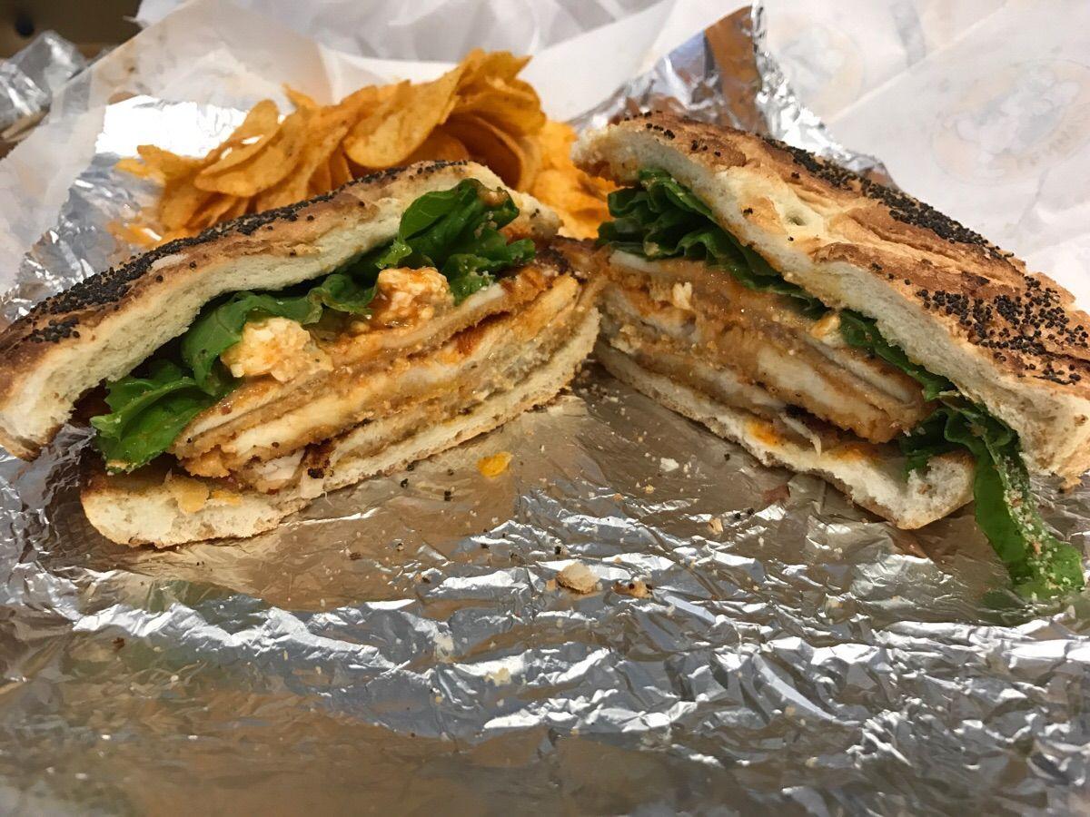 Buffalo Chicken Sandwich #sandwiches #food #lunch #love #salads #recipe #breakfast #coffee #foodie #foodporn