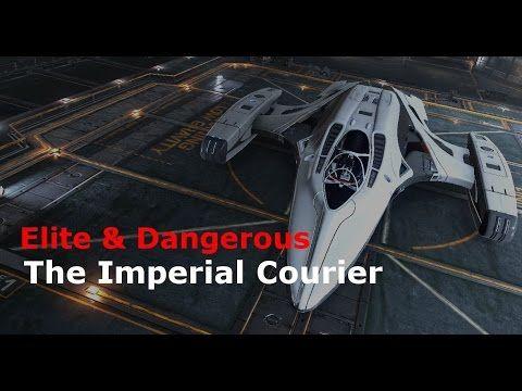 Imperial Courier - Elite & Dangerous Roguey