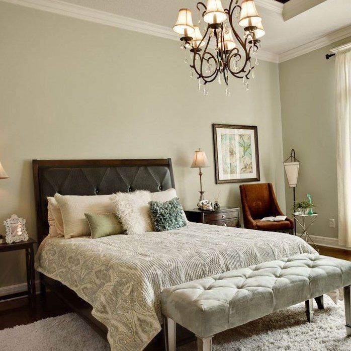 fetching image of bedroom decoration using sage green | Pin by Alex Bedroom on ideas for bedrooms | Sage green ...