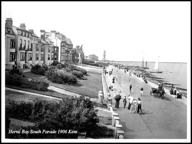 HERNE BAY SOUTH PARADE 1906