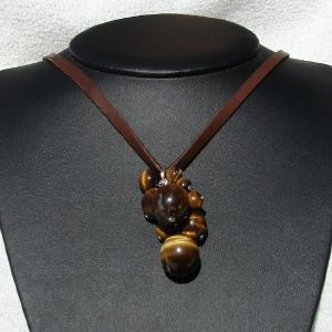 Tiger Eye Cluster necklace Tiger Eye Jewelry Designs Pinterest