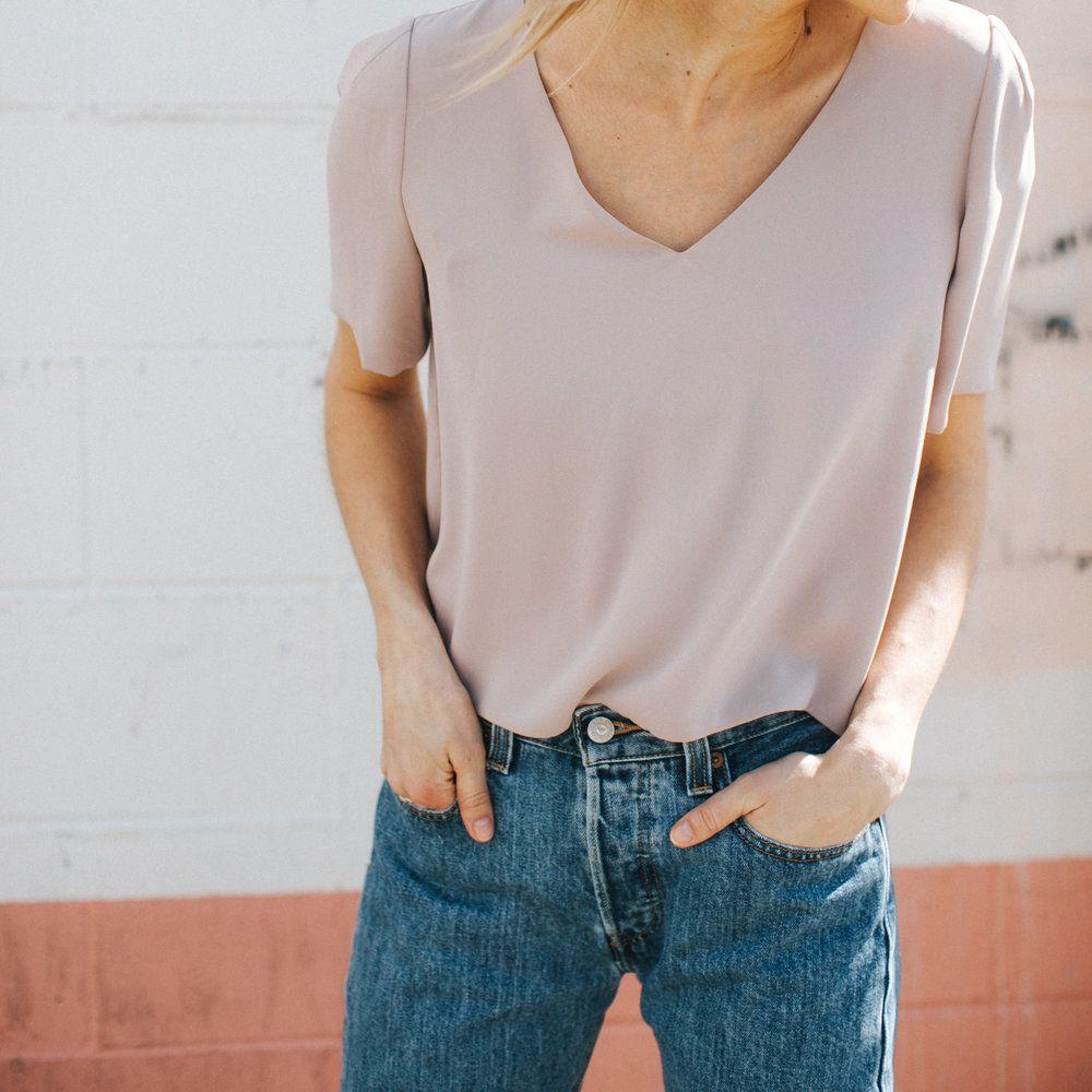 Blush 501s Style Fashion Outfits