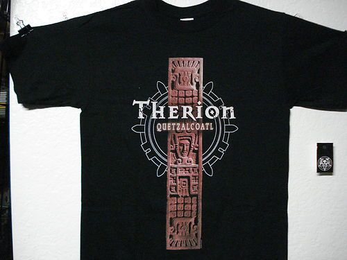 Therion New LRG Shirt Power Metal Nightwish Samael Haggard Katatonia Epica | eBay