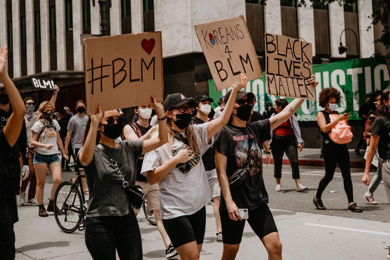 George Floyd Breonna Taylor Black Lives Matter Protests Downtown Los Angeles Black Lives Matter Protest Black Lives Matter George