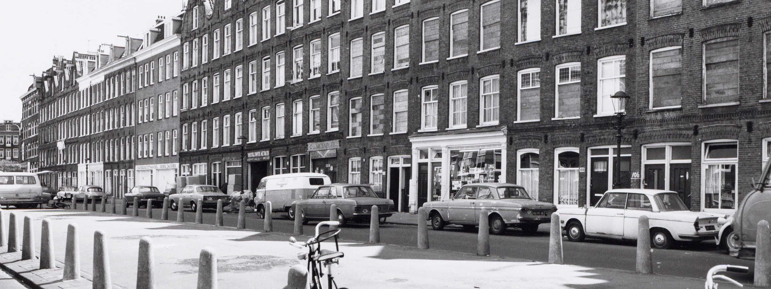 Wagenaarstraat 110 - 1971 .<br />Foto: Beeldbank Amsterdam