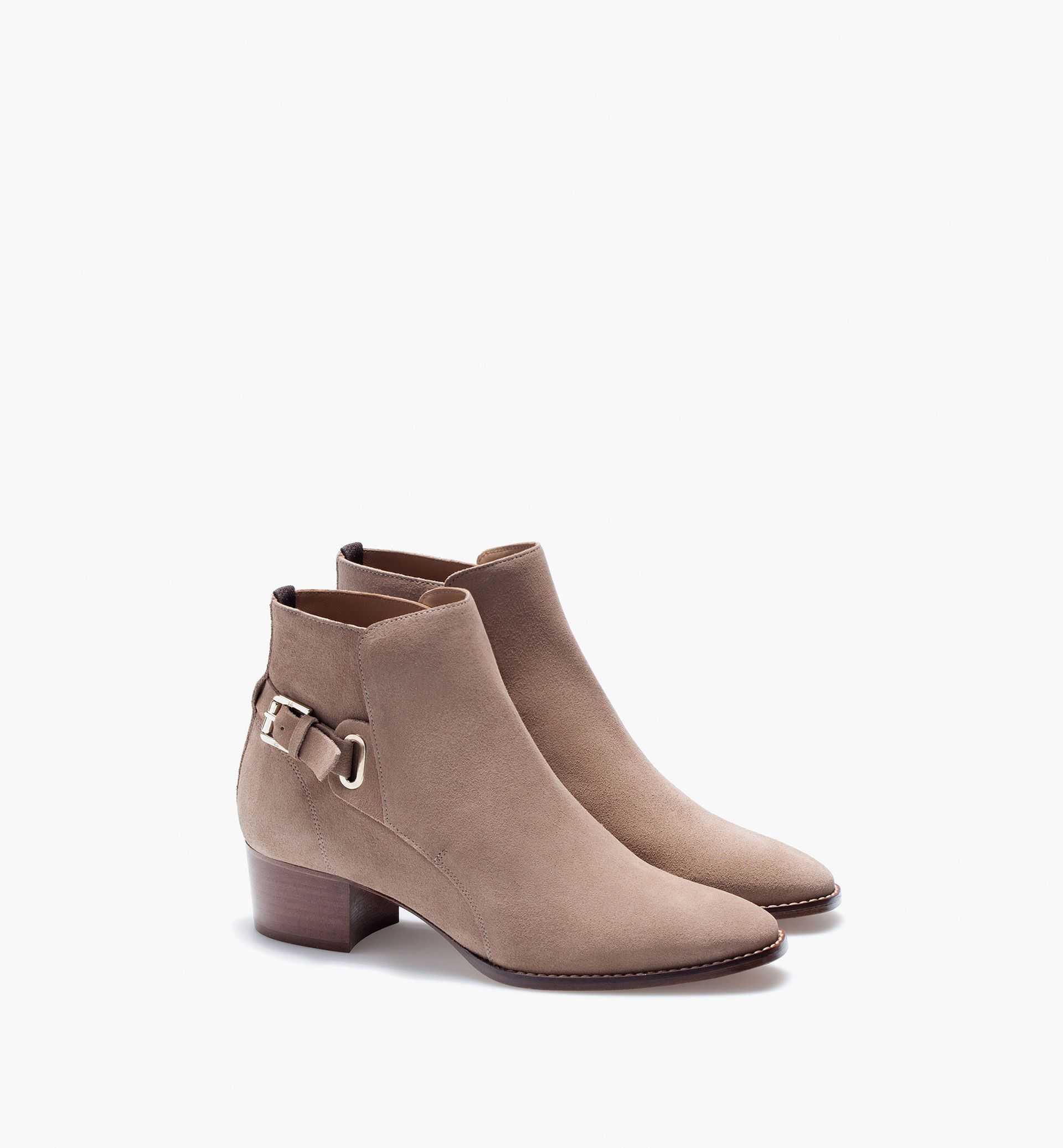 Online Sale 2017 Spring New Style Women'Tan Ankle boots