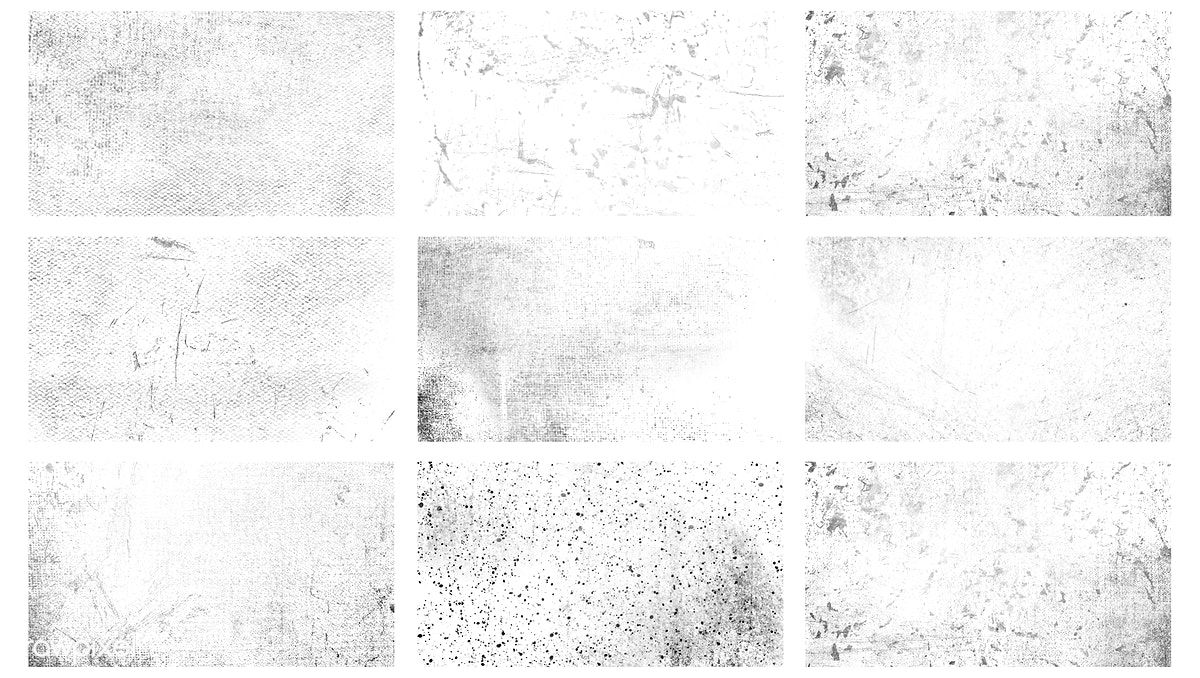 Free Grunge Black And White Distressed Textured Background