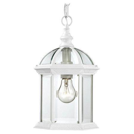 White Outdoor Lights Brilliant Boxwood Indooroutdoor Hanging Lantern In White At Joss & Main Design Decoration