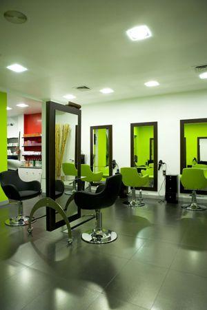Espacios agradables y confortables beauty gold espacio - Diseno de peluquerias ...