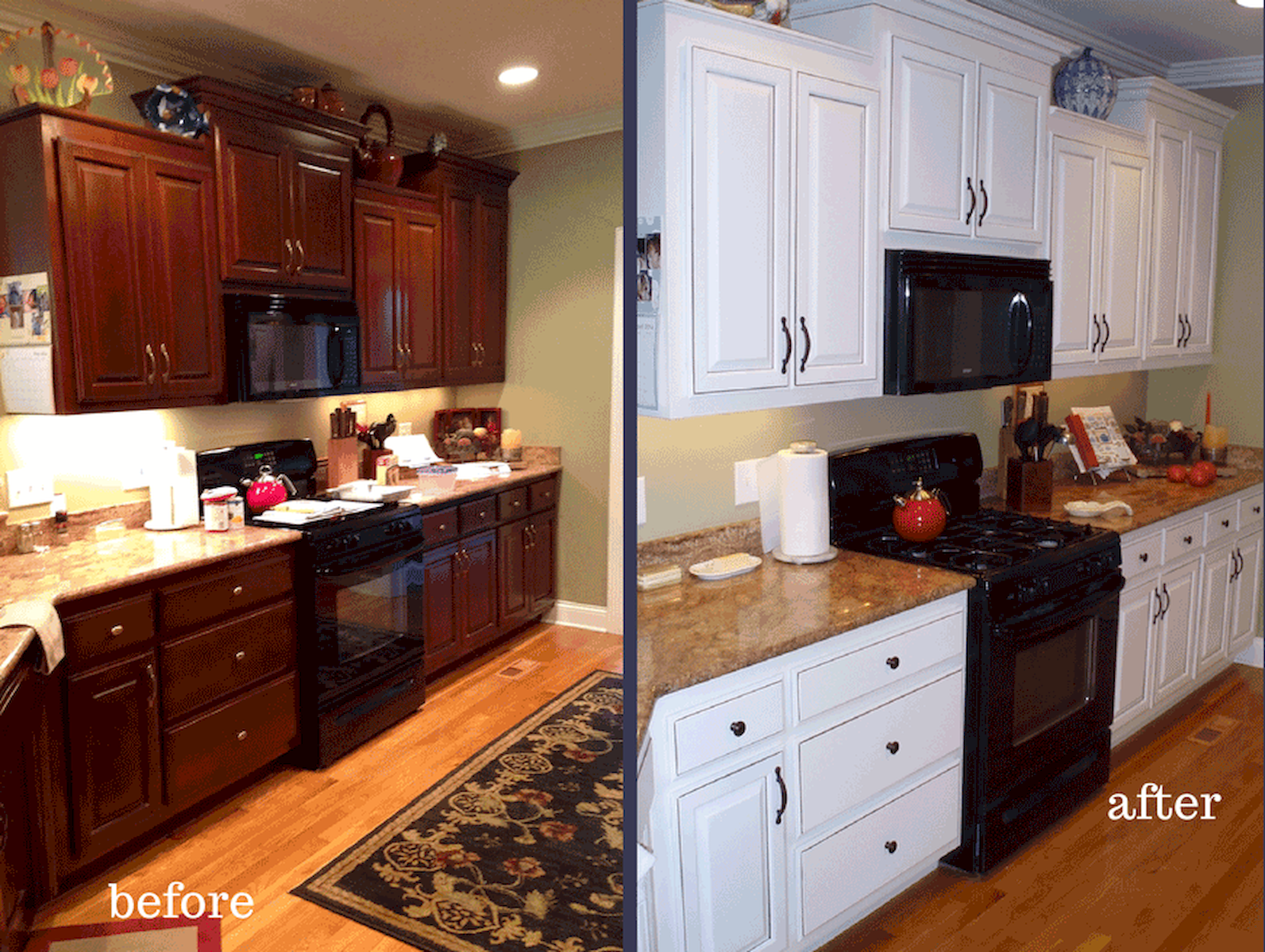 before after painted kitchen cabinet idea home design kitchen cabinets before and after on kitchen cabinets painted before and after id=82770