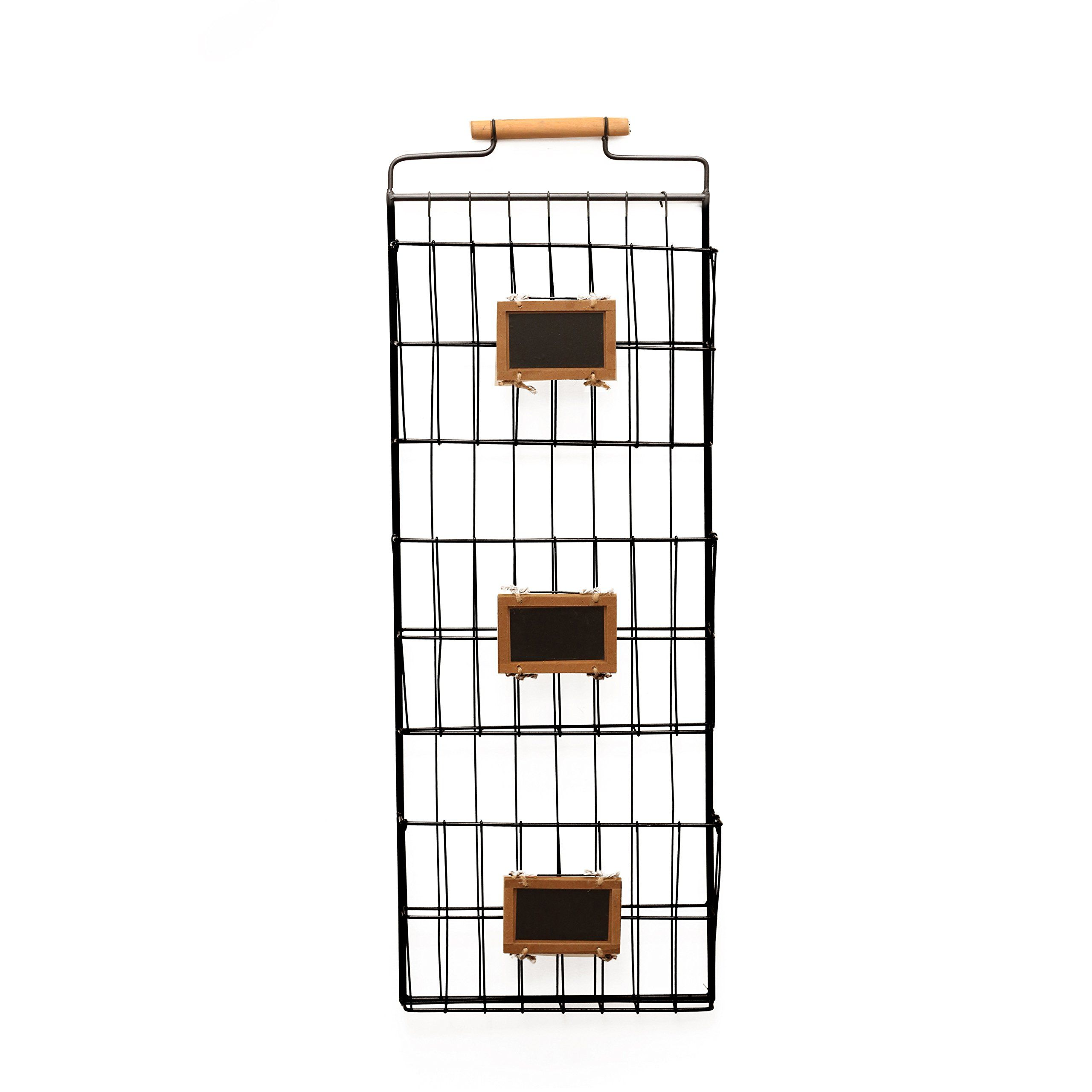 Amazon.com : 2 Pocket Wall File Holder : Office Products