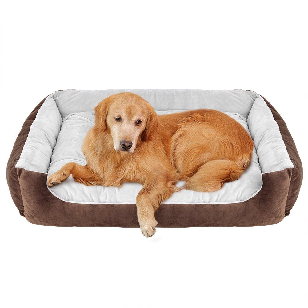 Willnorn Dog Bed For Large Dogs Clearance With Cover Removable Mat Water Resistant Bottom And Washable Ped Sofa Bed Couch Dog Bed Large Dog Bed Sofa Couch Bed