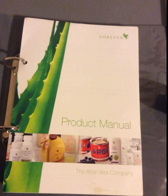 a592382cc04cc2 Forever Living Product Manual