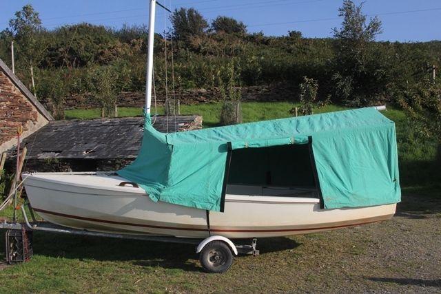 Wayfarer dinghy Traditional Canvas tent & Wayfarer dinghy Traditional Canvas tent | Dinghy Tents and ...