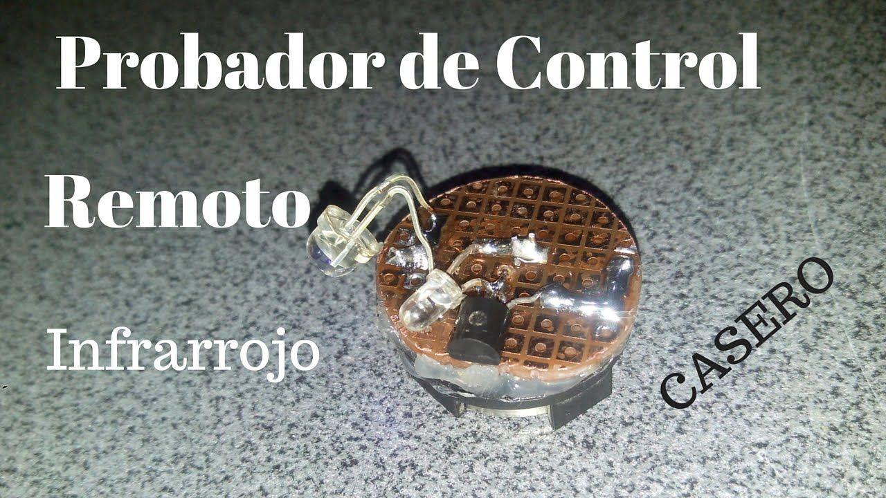 Probador De Control Remoto Casero Muy Fcil Proyectossimples Led Circuito Basado Transistores