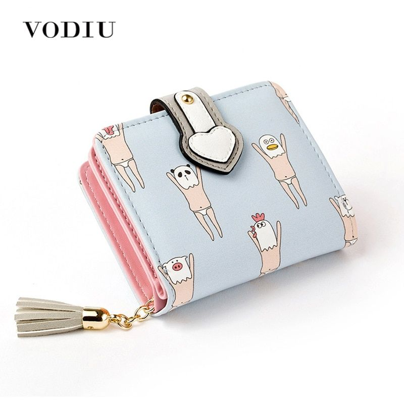 Womens Girls White Flower Credit Card Holder Purse Wallet Multi-colour Zip Close
