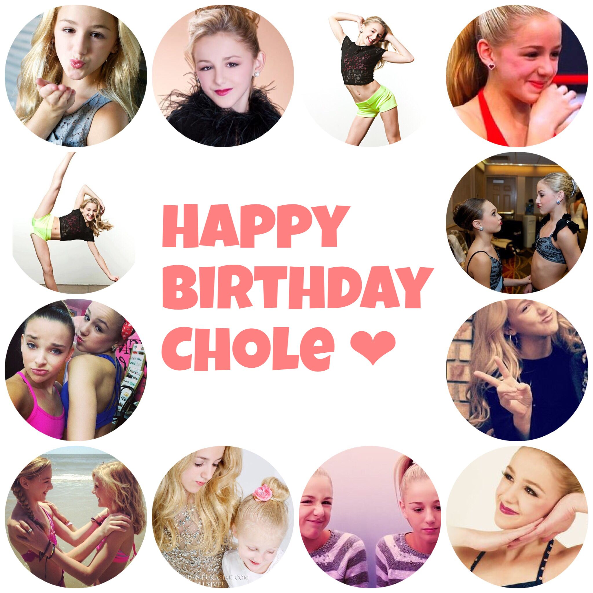 Happy birthday chole